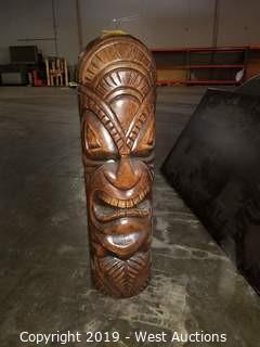 """Ceramic Tiki Totem (36"""")"""