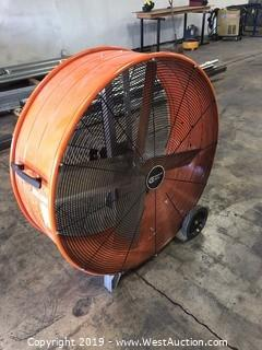 Commercial Electric Indoor Shop Fan
