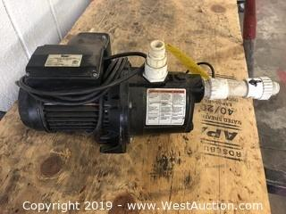 Simer 2800-1  Cast Iron Shallow Well Jet Pump