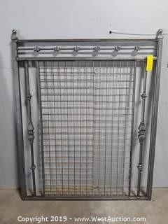 4'W X 6'T Custom Steel Gate