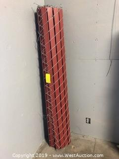 "Coil Of 71"" Chain Link Privacy Gate"