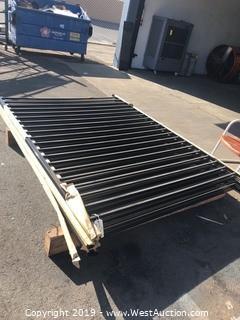 """(6) 5'8""""x8' Heavy Duty Fence Panels"""