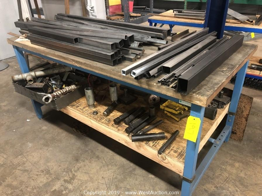 Forklift, Machinery, Tools and Supplies from Sacramento Metal Fence Supplier