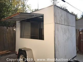 2005 Built-Rite Concession Box Trailer