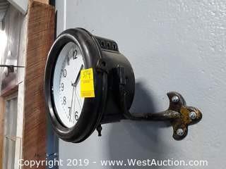 1914 Gas Truck Headlight Custom Battery Clock