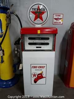 A.O Smith LD-3 Texaco Vintage Gas Pump