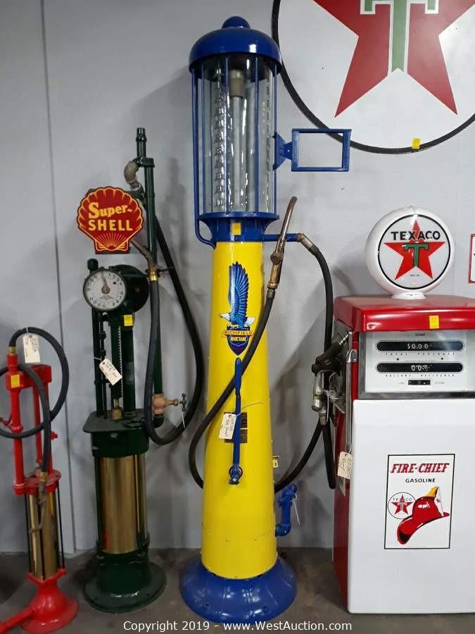 West Auctions - Auction: Online Auction of Vintage Gas Pumps