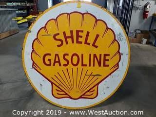Custom 4' Shell Steel Sign