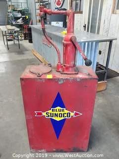"Bennett Rheem ""High Boy"" Vintage Oil Pump"