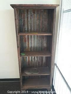 6' Wood Book Case