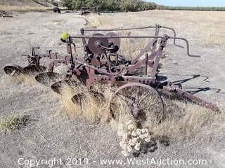 Oliver 4 Row Plow