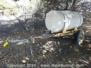 Snyder Industries 200 Gallon Tank Trailer
