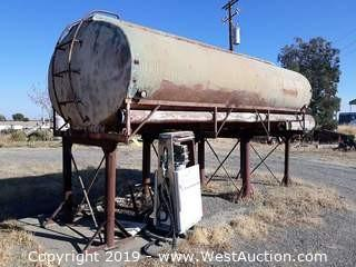 16' Cutom Built Fuel Tank With Has Pump