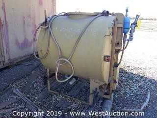 Air-O-Fan PTO 140 Gallon Spray Tank
