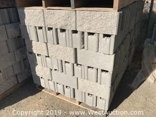 6x8x16 T/G SF/Smooth L/W Grey Fence Block