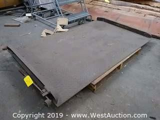 10,000 Lbs Capacity Manual Dock Plate