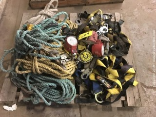 Pallet Of Safety Harness Gear