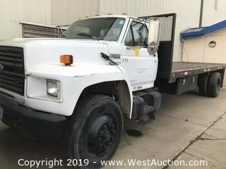1992 Ford F-800 Flatbed