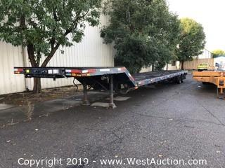45' Drop Deck Spencer ABC Wheel and Frame Trailer