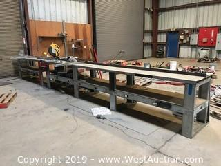 24'x2' Saw Table (Saw Not Included)