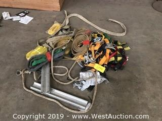 Heavy Duty Straps, Harnesses, Rope