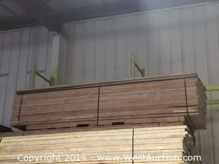 "(75) Scaffolding Planks 12' x 9"" x 1-1/2"""