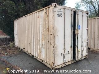 20' Sea Container with Shelving