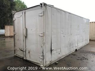 24' Trailmobile Sea Container with Contents