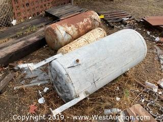 (3) Assorted Size/Style Pressure Tanks
