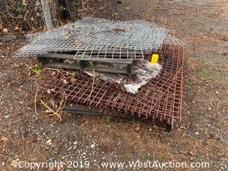 Approx. (20) Sections Heavy-Gauge Steel Wire Screen