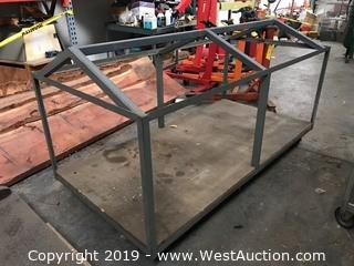 6'x3'x3' Steel Frame Cart