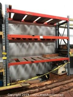 (1) Section Of 10' Pallet Racking