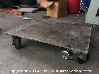 Metal Flatbed Dolly
