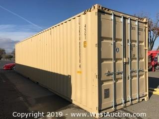 2018 Pan Ocean 40' Shipping Container