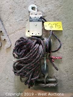 Tuf-Tug Rope Hoist