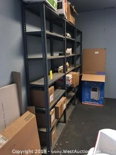 (3) 7' Units of Industrial Shelving