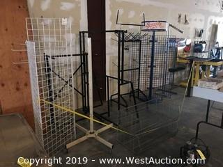 (5+) Assorted Retail Racks And Display Units