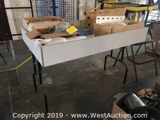 Folding Dump Table with Contents