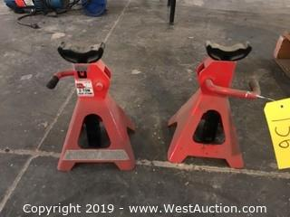 (2) Big Red 2-Ton Jack Stands