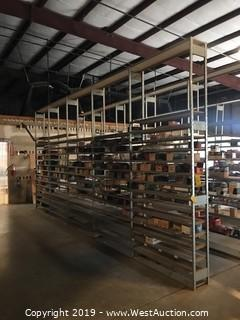 (5)  10' Units Of Industrial Shelving