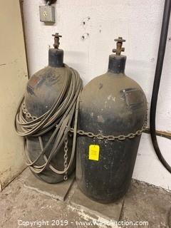 High-Pressure Air Tanks