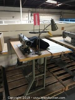 4'x3' Sewing Table With Brother DB2-B790-5 Sewing Machine