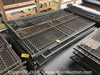 "Pallet Of (6+) 60""x93"" Chain Link Fence Sections"