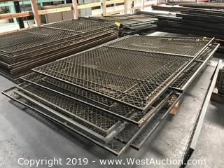 "Pallet Of (10+) 60""x93"" Chain Link Fence Sections"
