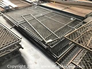 "Pallet Of (8) 80""x58"" Chain Link Fence Sections"