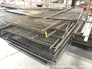 "Pallet Of (15+) 60""x92"" Chain Link Fence Sections"