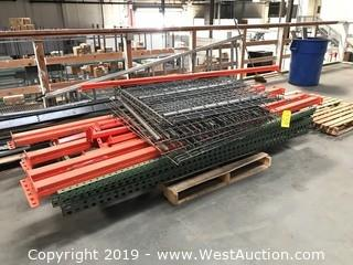 Pallet Of Pallet Racking Parts
