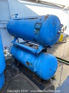 (2) Buckeye Air Pressure Tanks