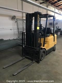 Hyster S50XM 4,950 LB Propane Forklift