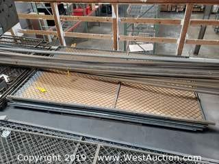 (6) 5' x 8' Fence Panels